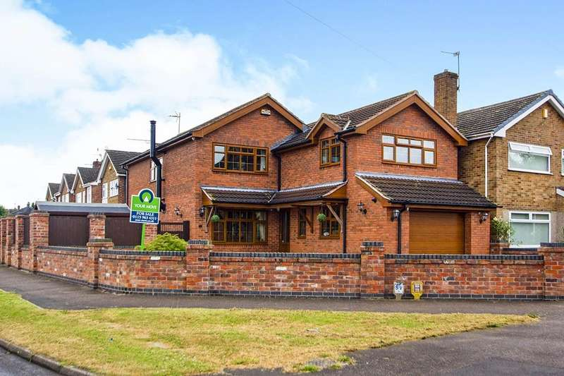 4 Bedrooms Detached House for sale in Hayden Lane, Hucknall, Nottingham, NG15