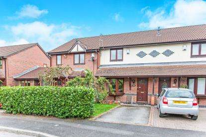 2 Bedrooms Terraced House for sale in Newsholme Close, Culcheth, Warrington, Cheshire