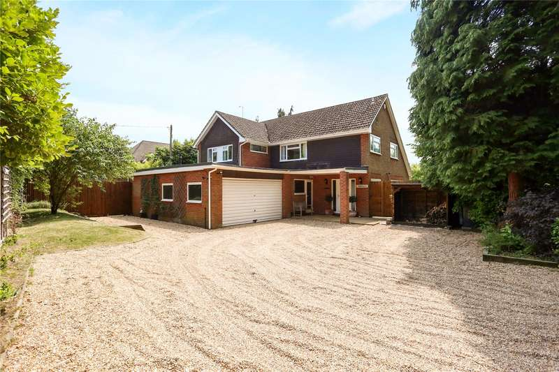 5 Bedrooms Detached House for sale in Grayshott Road, Headley Down, Hampshire, GU35