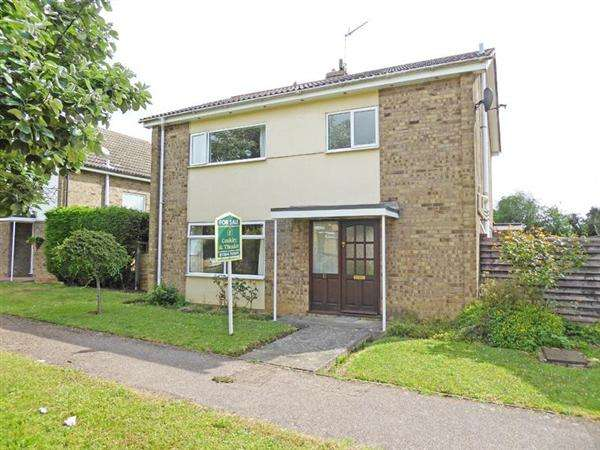 4 Bedrooms Detached House for sale in Mitre Close, Woolpit, BURY ST. EDMUNDS IP30 9SJ