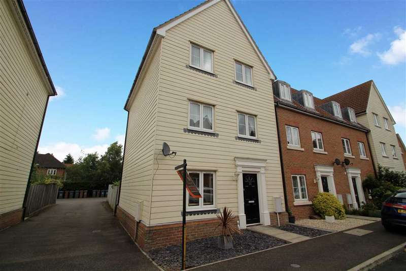 4 Bedrooms Town House for sale in Meadow Crescent, Purdis Farm