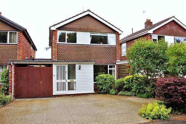 3 Bedrooms Detached House for sale in Rugby Drive, Tytherington, Macclesfield