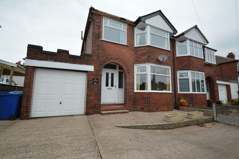 3 Bedrooms Semi Detached House for sale in Bury New Road, Whitefield, Manchester, M45