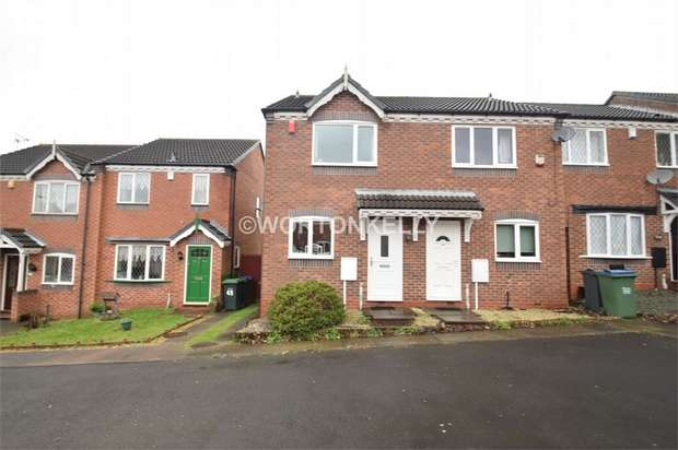 2 Bedrooms Semi Detached House for sale in Mistletoe Drive, WALSALL, West Midlands
