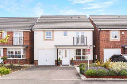 4 Bedrooms Detached House for sale in Rounds Road, Worcester, Worcestershire, United Kingdom