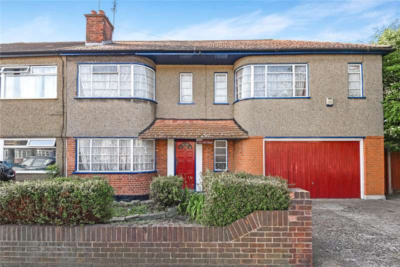 4 Bedrooms Semi Detached House for sale in Whitby Road, Ruislip Manor, Middlesex, HA4
