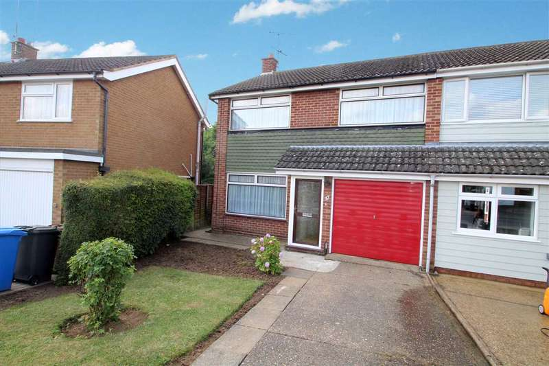 3 Bedrooms Semi Detached House for sale in Carolbrook Road, Ipswich