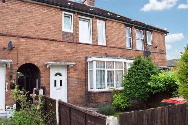 3 Bedrooms Terraced House for sale in Martin Road, Wellington, Telford, Shropshire