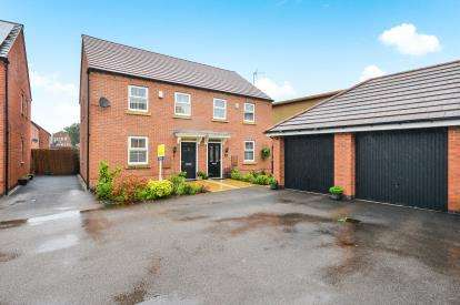3 Bedrooms Semi Detached House for sale in Sunstone Grove, Sutton-In-Ashfield, Nottinghamshire