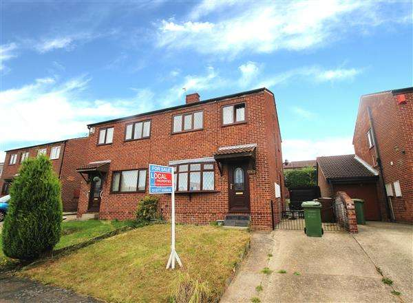 3 Bedrooms Semi Detached House for sale in Beacon Drive, Upton