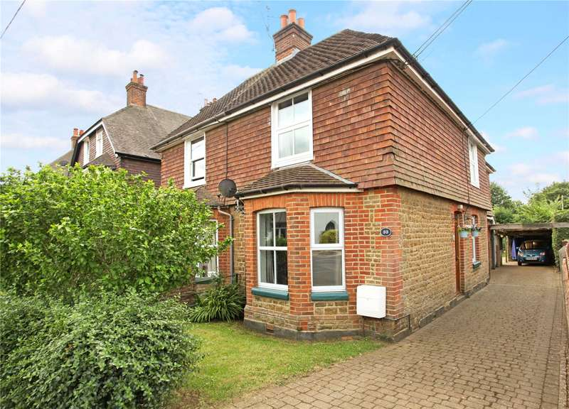 3 Bedrooms Semi Detached House for sale in Chapel Lane, Milford, Godalming, Surrey, GU8