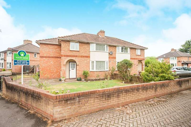 4 Bedrooms Semi Detached House for sale in Roman Road, Taunton, TA1