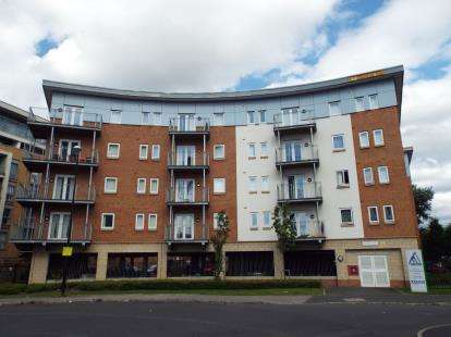 1 Bedroom Flat for sale in Brindley House, 1 Elmira Way, Salford, Greater Manchester