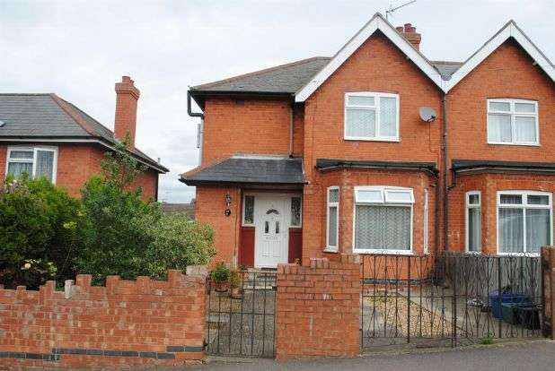 3 Bedrooms Semi Detached House for sale in Cranford Road, Kingsthorpe, Northampton NN2 7PU