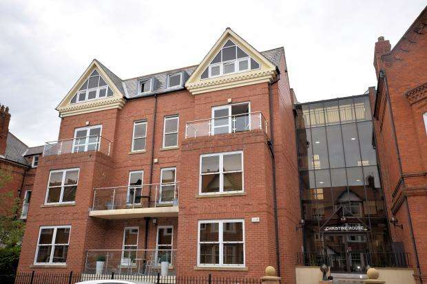2 Bedrooms Apartment Flat for sale in Christine House, Avenue Victoria, Scarborough, North Yorkshire YO11 2QS