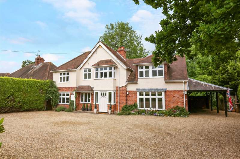 4 Bedrooms Detached House for sale in Church Lane, Rotherfield Peppard, Henley-on-Thames, Oxfordshire, RG9