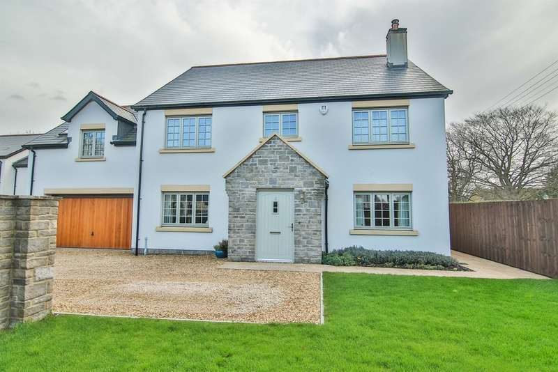 4 Bedrooms Detached House for sale in Groes Fawr Close, Marshfield, Cardiff