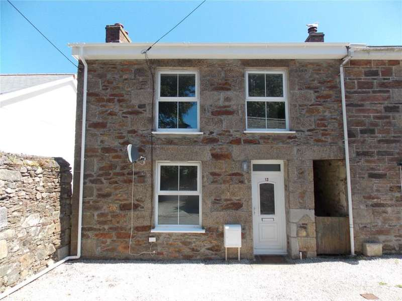 3 Bedrooms End Of Terrace House for sale in Hoskings Row, Redruth