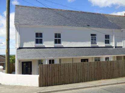 2 Bedrooms End Of Terrace House for sale in St. Columb Road, St. Columb, Cornwall
