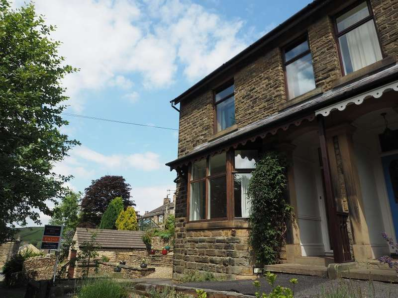 4 Bedrooms Semi Detached House for sale in Chapel Road, Hayfield, High Peak, Derbyshire, SK22 2JF