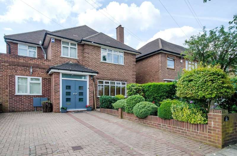 4 Bedrooms Detached House for sale in Amery Road, Harrow, HA1