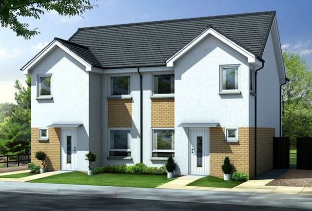 3 Bedrooms Semi-detached Villa House for sale in Lawson Avenue, Motherwell, ML1 2RH