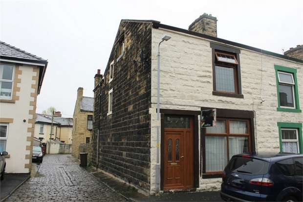 2 Bedrooms End Of Terrace House for sale in Rutland Street, Nelson, Lancashire