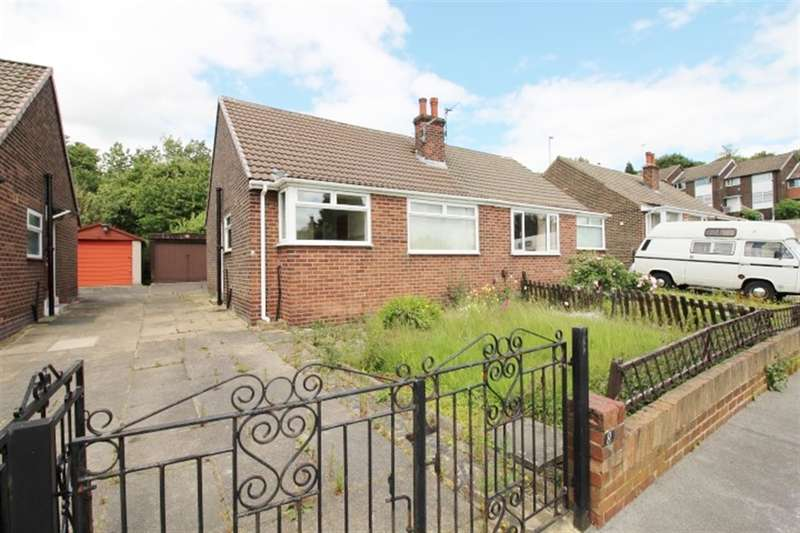 2 Bedrooms Semi Detached Bungalow for sale in Heather Grove, Bramley, LS13 4LE