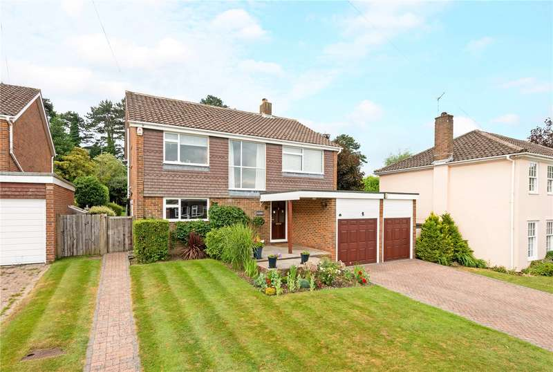 4 Bedrooms Detached House for sale in The Knolls, Epsom, Surrey, KT17