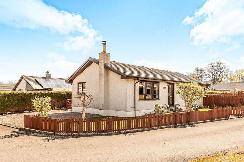 3 Bedrooms Detached Bungalow for sale in Lambourn, Wolfhill, Perth, PH2