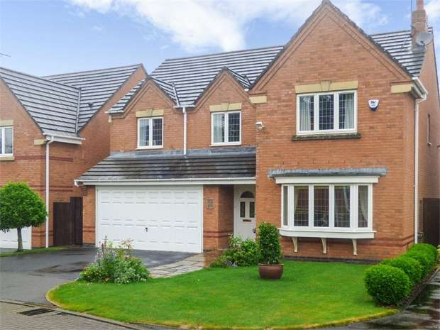5 Bedrooms Detached House for sale in Oak Drive, Scholar Green, Stoke-on-Trent, Cheshire