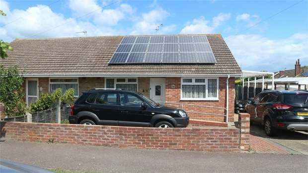 3 Bedrooms Semi Detached Bungalow for sale in Ship Road, Lowestoft, Suffolk