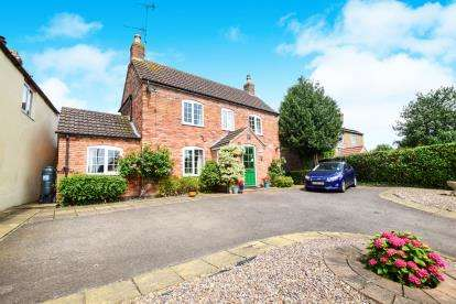 3 Bedrooms Detached House for sale in Partney Road, Sausthorpe, Spilsby, .