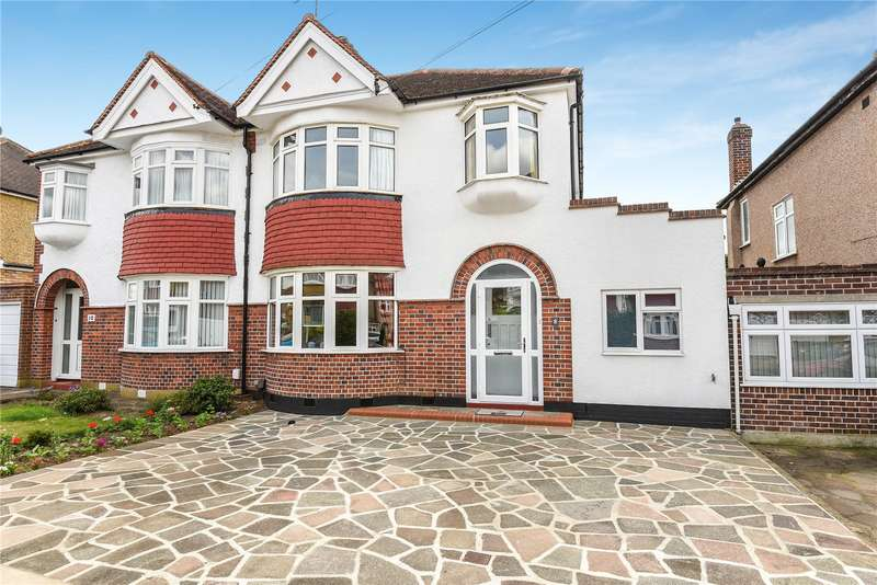 3 Bedrooms Semi Detached House for sale in Tewkesbury Avenue, Pinner, Middlesex, HA5