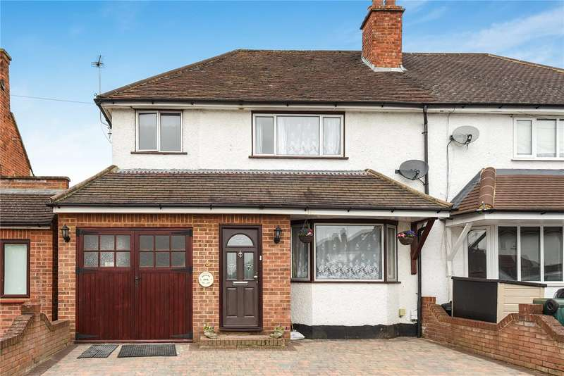 4 Bedrooms Semi Detached House for sale in Mill Way, Mill End, Hertfordshire, WD3