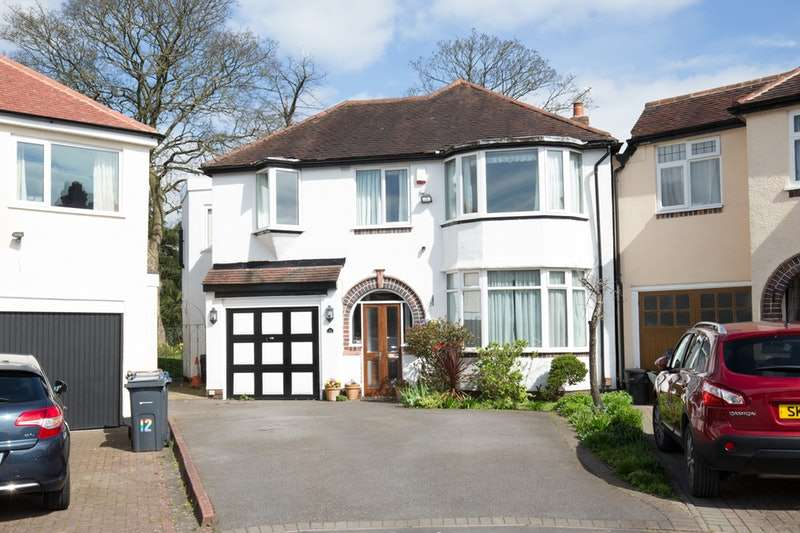 4 Bedrooms Detached House for sale in Stapylton Avenue, Birmingham, West Midlands, B17