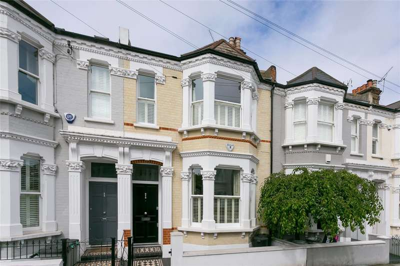 5 Bedrooms Terraced House for sale in Sugden Road, London, SW11