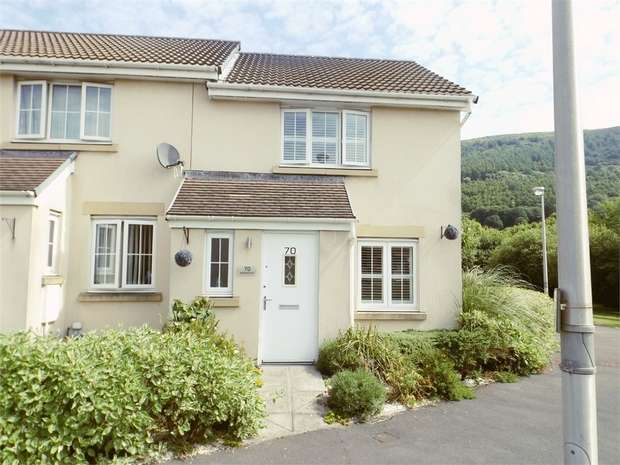 2 Bedrooms End Of Terrace House for sale in Abbottsmoor, Baglan, Port Talbot, West Glamorgan