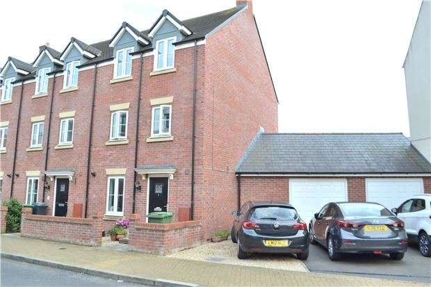 4 Bedrooms End Of Terrace House for sale in Sapphire Way, Brockworth, GLOUCESTER, GL3 4FB
