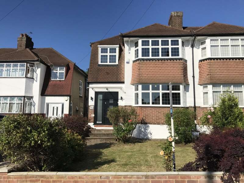 4 Bedrooms Semi Detached House for sale in Ivere Drive, Barnet, Hertfordshire, EN5