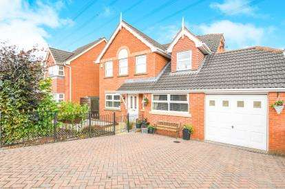4 Bedrooms Detached House for sale in Dereham Way, Runcorn, Cheshire, WA7
