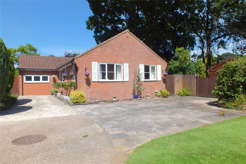 3 Bedrooms Detached Bungalow for sale in Earlsbourne, Church Crookham, Fleet, Hampshire, GU52