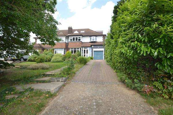 6 Bedrooms Semi Detached House for sale in Wise Lane, Mill Hill