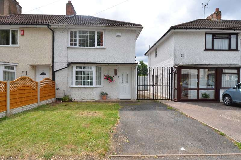 2 Bedrooms End Of Terrace House for sale in Beauchamp Road, Billesley, Birmingham
