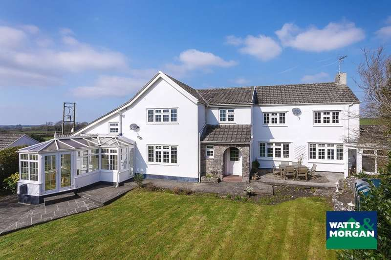 4 Bedrooms Detached House for sale in Windlesham House, Colwinston, Vale of Glamorgan, CF71 7NL