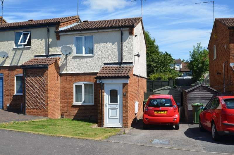 2 Bedrooms End Of Terrace House for sale in Scafell, Brownsover, Rugby
