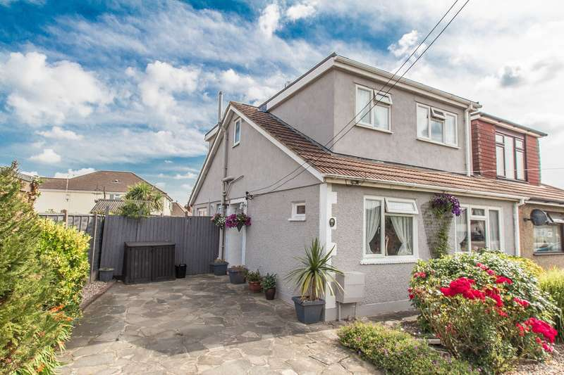 3 Bedrooms Semi Detached House for sale in Chancel Close, Benfleet, SS7