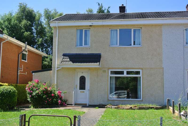 3 Bedrooms Semi Detached House for sale in Ton Road, Cwmbran, NP44
