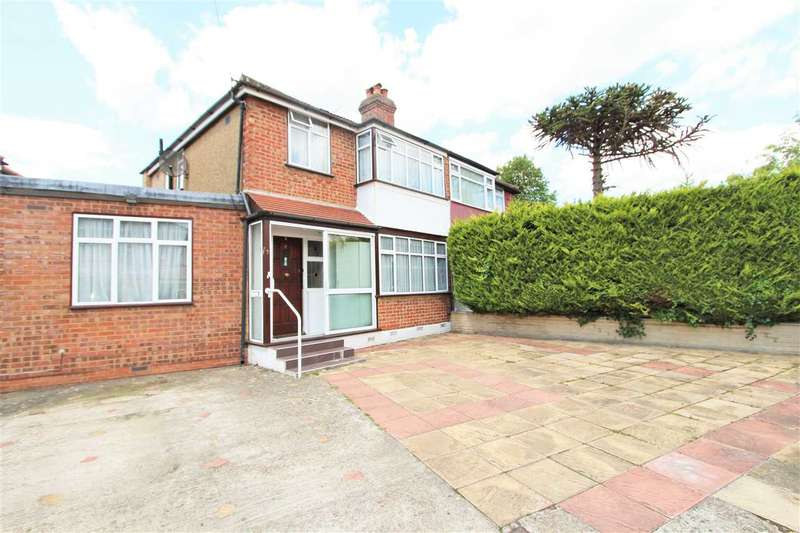 4 Bedrooms Semi Detached House for sale in Morley Crescent East, Stanmore
