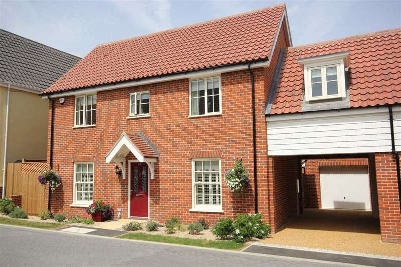 4 Bedrooms Link Detached House for sale in Foundry Close, Glemsford